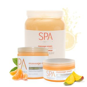 Spa Mandarin + Mango Massage Cream