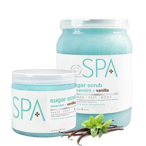 Spearmint + Vanilla Sugar Scrub